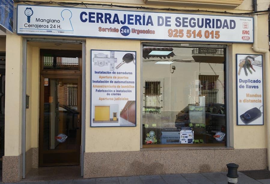 Empresa cerrajería Madrid y Toledo